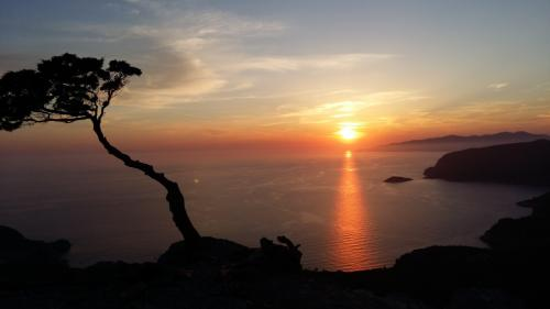 Tramonto Costa Nord - Monolithos
